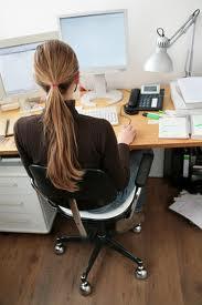 Sitting at work