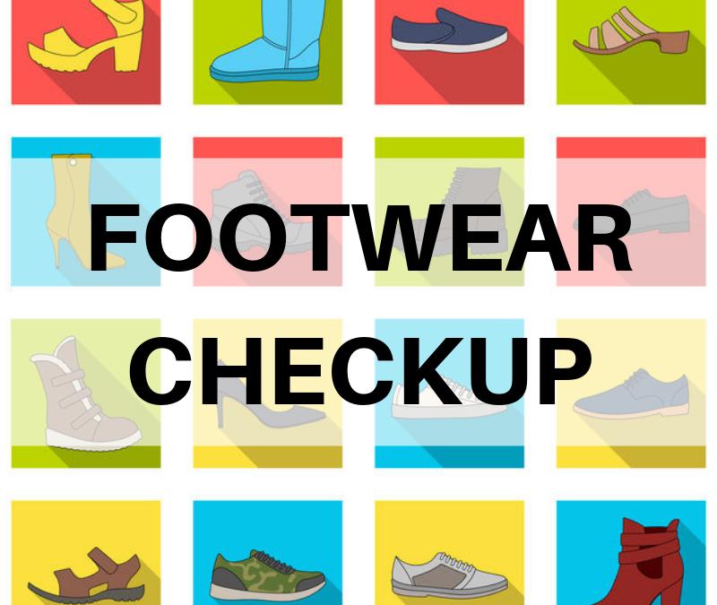 footwear checkup